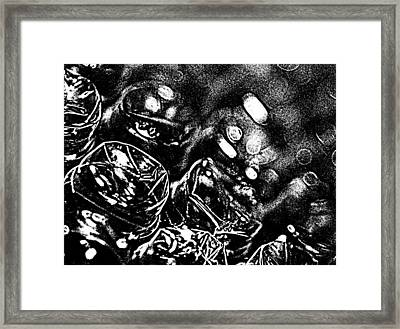 Bubble Scape Framed Print by Catherine Morgan