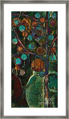 Bubble Tree - Spc01ct04 - Left Framed Print by Variance Collections