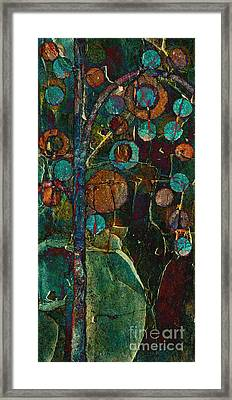 Bubble Tree - Spc01ct04 - Right Framed Print by Variance Collections