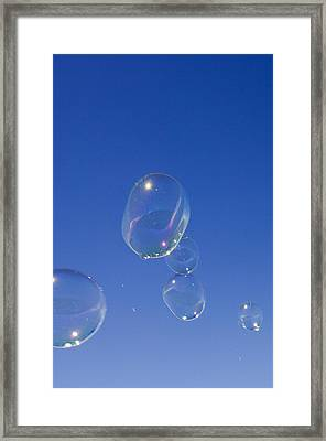 Bubbles Framed Print by Lawrence Lawry