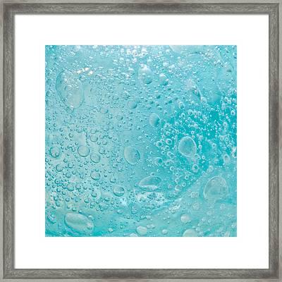 Bubbles Framed Print by Tom Gowanlock