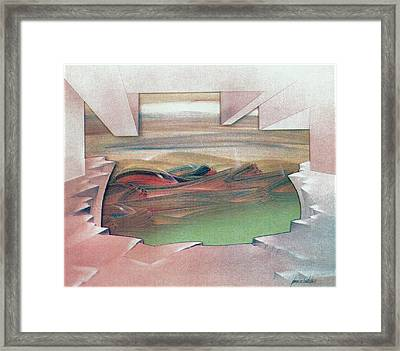 Bubblescape 1980 B Framed Print by Glenn Bautista