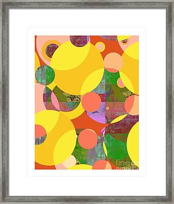 Bubblicious Iv Framed Print by Ricki Mountain