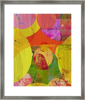 bubblicious VI Framed Print by Ricki Mountain