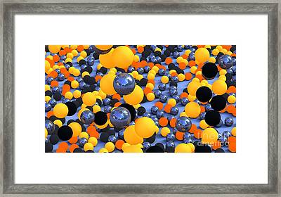 Bubblish Framed Print