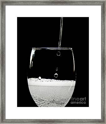 Bubbly Framed Print by Andee Design