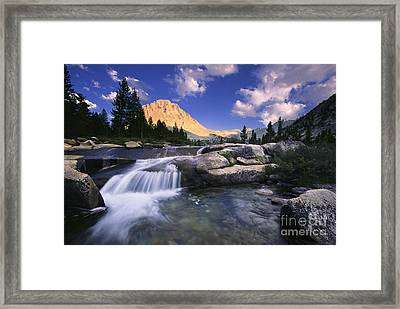 Bubbs Creek Framed Print by Buck Forester