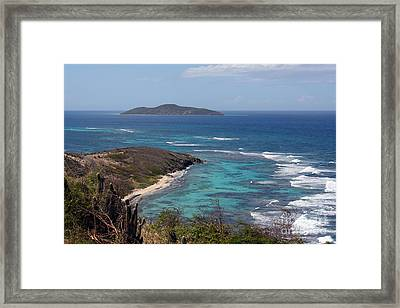 Buck Island Usvi Framed Print
