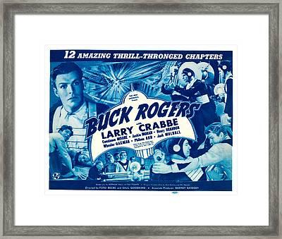 Buck Rogers, Top Left, Bottom Right Framed Print by Everett