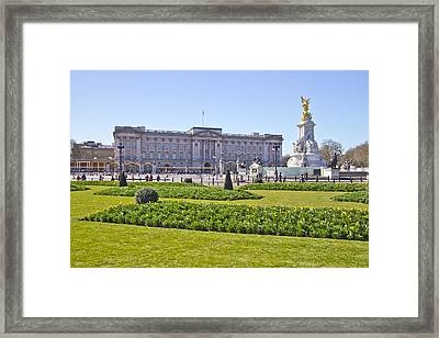 Buckingham Palace  Framed Print by David French