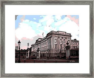 Buckingham Palace Framed Print by George Pedro