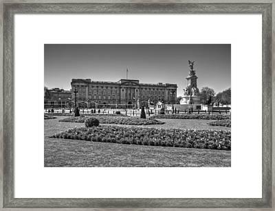 Buckingham Palace London Framed Print by David French