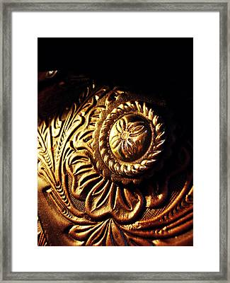 Buckle Framed Print