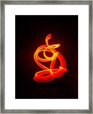 Budda Rising Framed Print by Douglas Barnett