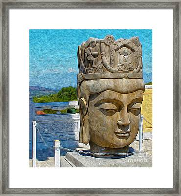 Buddha - 01 Framed Print by Gregory Dyer