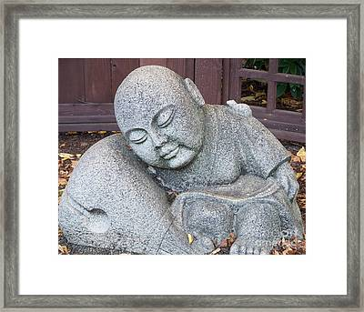 Buddha Framed Print by Chalet Roome-Rigdon