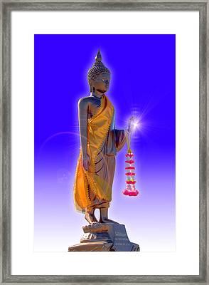 Buddha Framed Print by David Foster