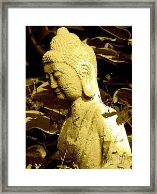 Buddha  Framed Print by France Laliberte