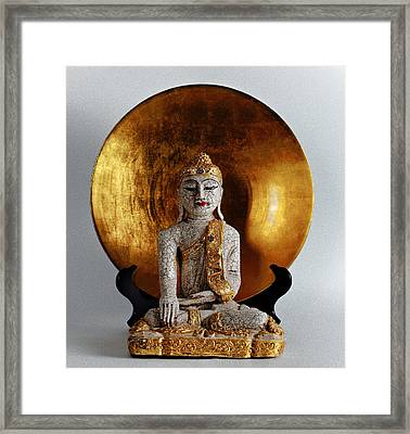 Buddha Girl Framed Print