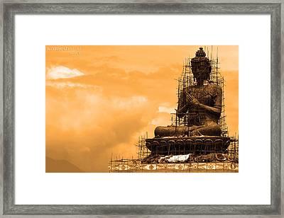 Buddha Framed Print by Kalpesh Shah