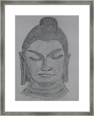 Buddha Framed Print by Monika