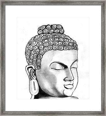 Buddha Framed Print by Shashi Kumar
