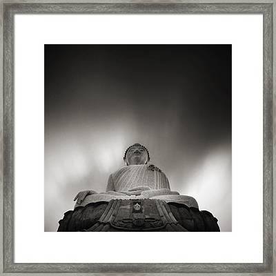 Buddha Statue Framed Print by Teerapat Pattanasoponpong