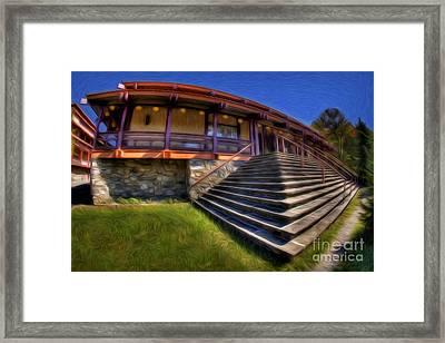 Buddhist Monastery Framed Print