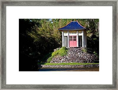Buddhist Pagoda Framed Print