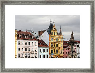 Budweis - Pearl Of Bohemia - Czech Republic Framed Print by Christine Till