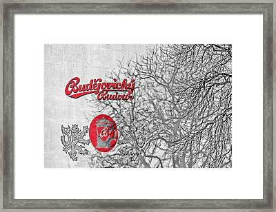 Budweis Czech Republic - 700 Years Of Brewing Tradition Framed Print