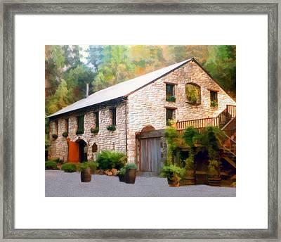 Buenavista Winery Framed Print by Kurt Van Wagner