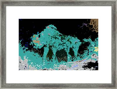 Buffalo Hump Framed Print by David Lee Thompson