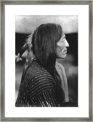 Buffalo Nickel Portait. Framed Print by Underwood Archives