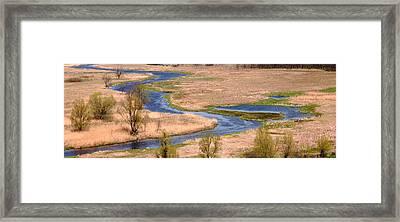 Bug River In Belarus Framed Print