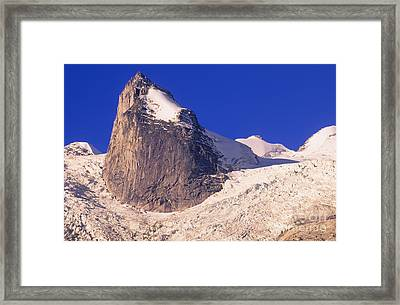 Bugaboo Spire Framed Print by Bob Christopher