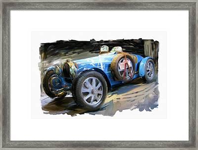 Bugatti Roadster Framed Print by RG McMahon