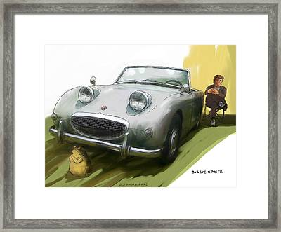 Bugeye Sprite Framed Print by RG McMahon
