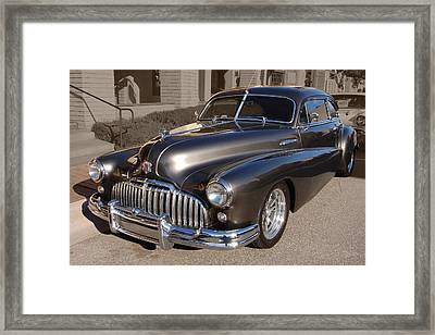 Framed Print featuring the photograph Buick Fastback by Bill Dutting