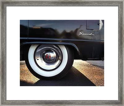 Framed Print featuring the photograph Buick Rear by Elizabeth Coats