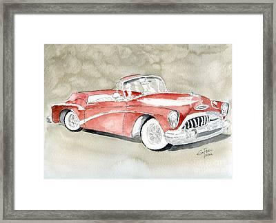 Buick Skylark 1953 Framed Print by Eva Ason