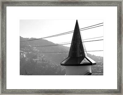 Building At A Countryside  Framed Print by Sumit Mehndiratta