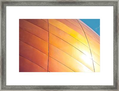 Building Exterior Framed Print by Tom Gowanlock