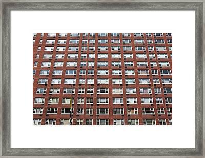 Building Facade Framed Print