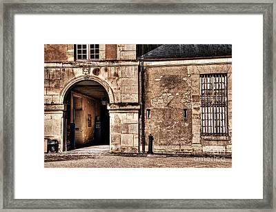 Building In France Framed Print by Charuhas Images
