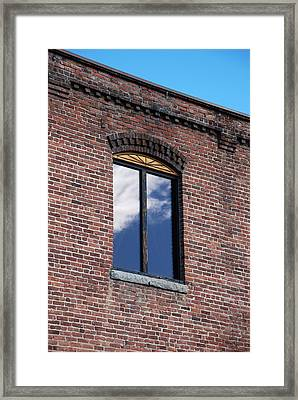 Framed Print featuring the photograph Building Series - Sky Views by Kathleen Grace