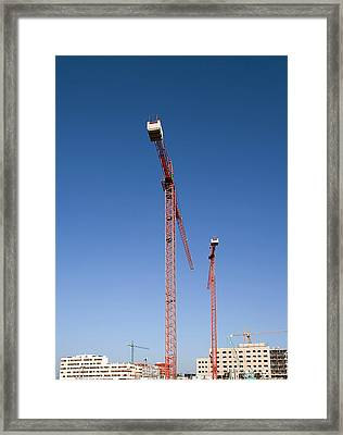 Building Site, Spain Framed Print by Carlos Dominguez