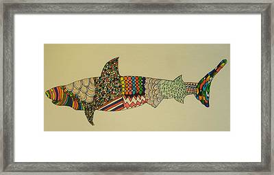 Bull Shark Framed Print