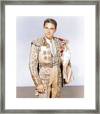 Bullfighter And The Lady, Robert Stack Framed Print by Everett