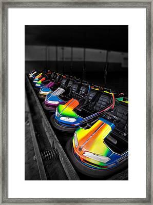 Bumper Cars Framed Print by Mark Dottle